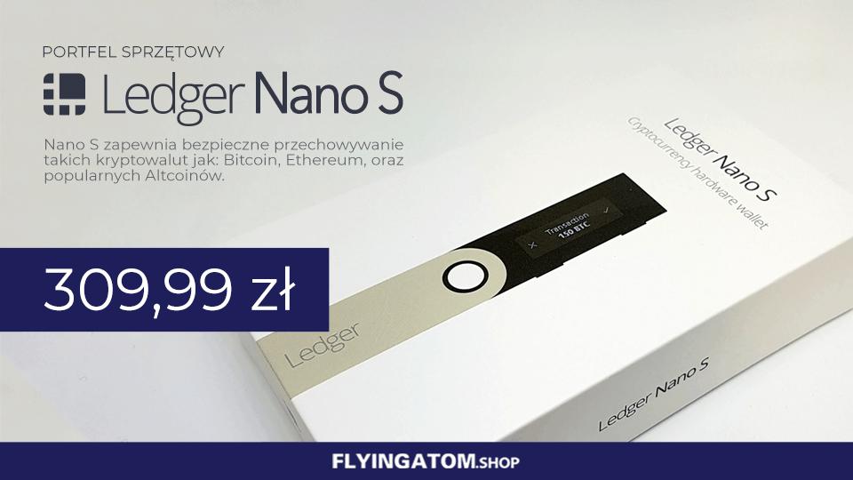 Ledger Nano S w FlyingAtom Shop