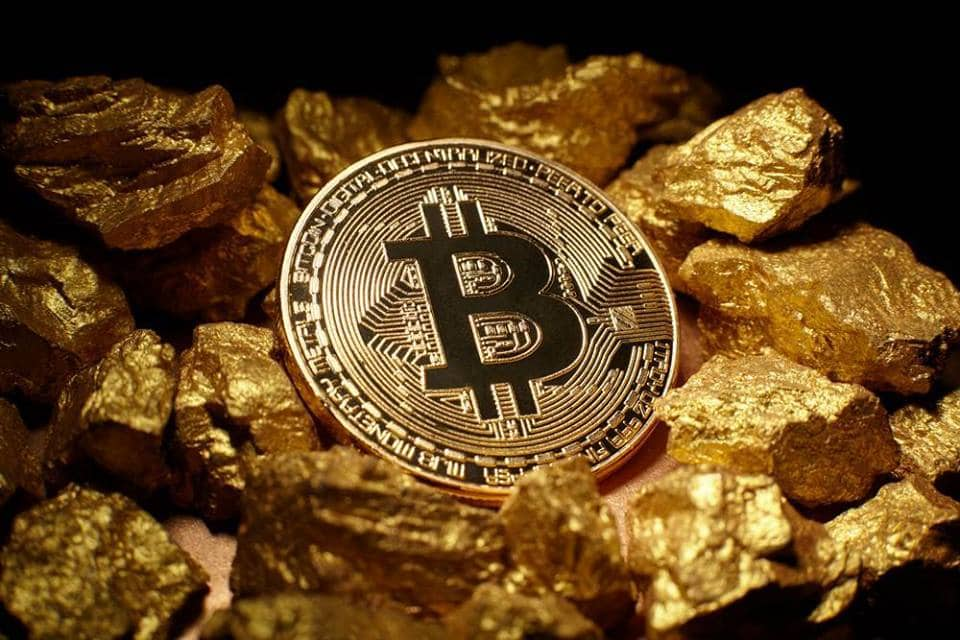 Złoto za Bitcoiny