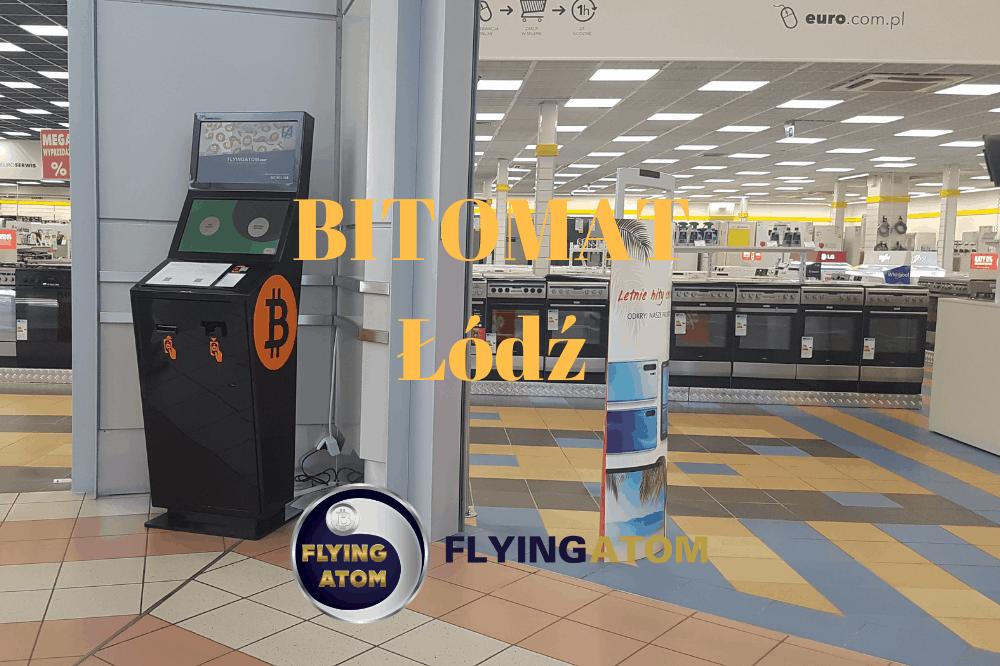 Kolejny Bitomat FlyingAtom w Łodzi