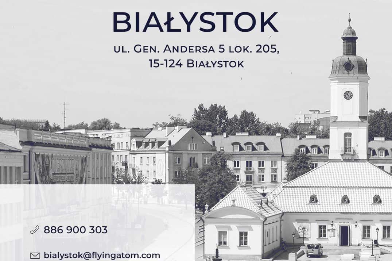 Biuro FlyingAtom Białystok