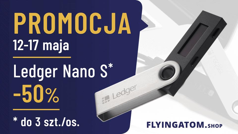 Ledger Nano S w promocji na halving