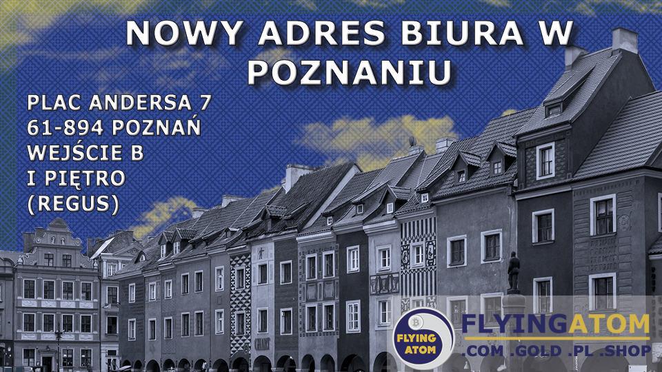 Nowy adres biura FlyingAtom Poznań